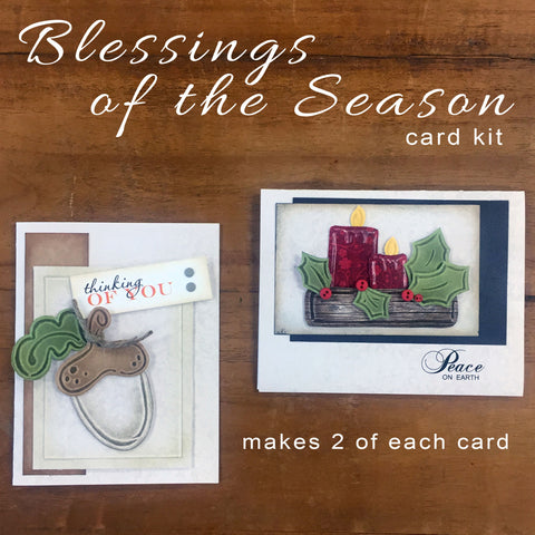 Blessings of the Season Card Kit