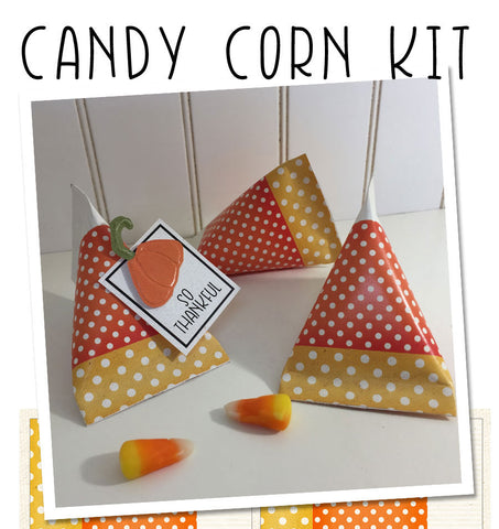 Candy Corn Treat Holder Kit - Creates 6 Packets