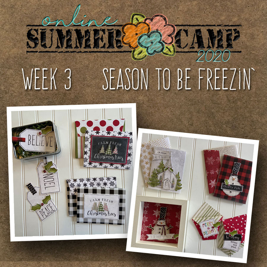 ********Summer Camp Week 3 - Season to be Freezin'