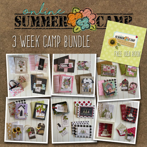 ********Summer Camp - 3 Week Bundle & FREE Idea Book