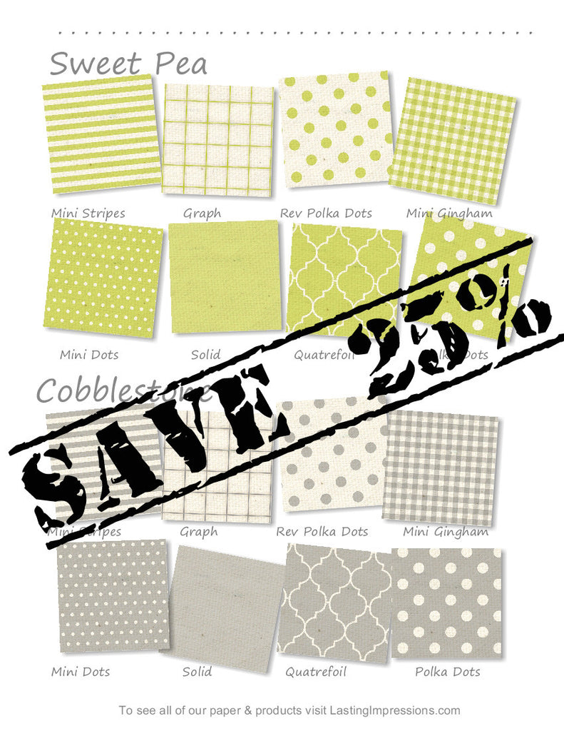 2016 Spring Paper Collection 12 x 12