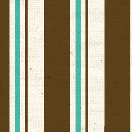 *All About Him Stripes 12x12 - One Sheet