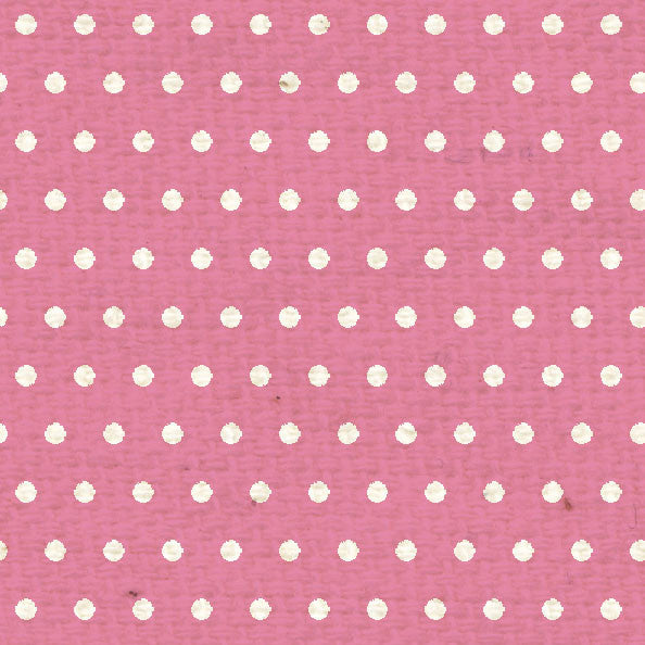 *PCMD8  Pink Cosmos Mini Dots 8 1/2 x 11