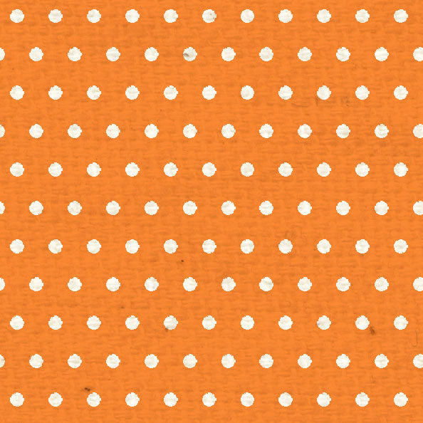 *OPMD8 Orange Poppy Mini Dots 8 1/2 x 11