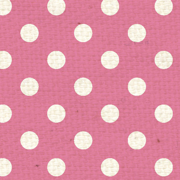 *PCPD8 - Pink Cosmos Polka Dots 8 1/2 x 11