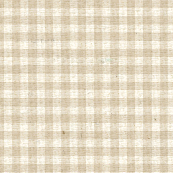 *BABMG8  Baby's Breath Mini Gingham Paper  8 1/2 x 11