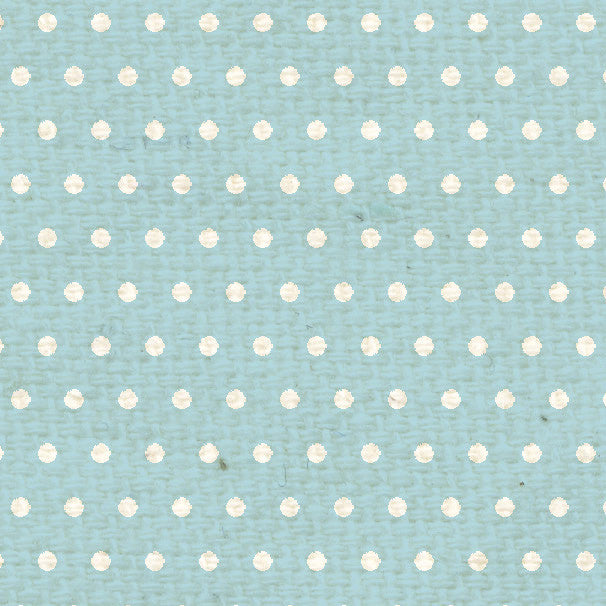 **FBMD8  French Blue Mini Dots Paper  8 1/2 x 11