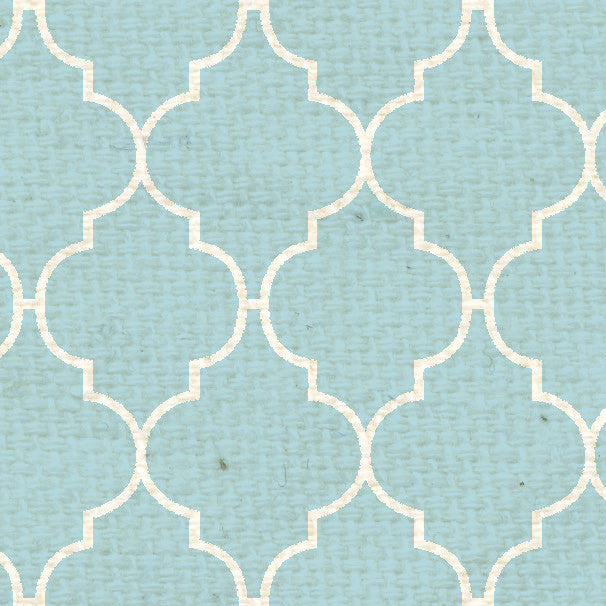 *FBQF8  French Blue Quatrefoil Paper  8 1/2 x 11