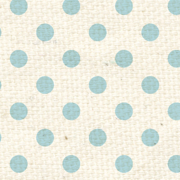**FBRPD12  French Blue Rev Polka Dots Paper  12 x 12