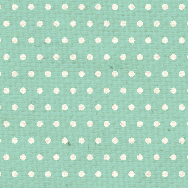 *SFMD8  Sea Foam Mini Dots Paper  8 1/2 x 11
