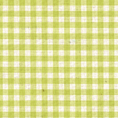 *SPMG8  Sweet Pea Mini Gingham Paper  8 1/2 x 11