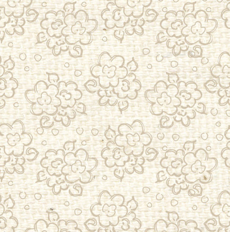 ***BBDF8  Baby's Breath Doodle Flowers Paper  8 1/2 x 11