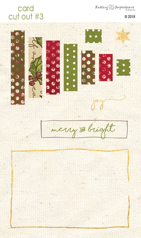 ********CCO3 - Merry & Bright Tree Cut Out #3