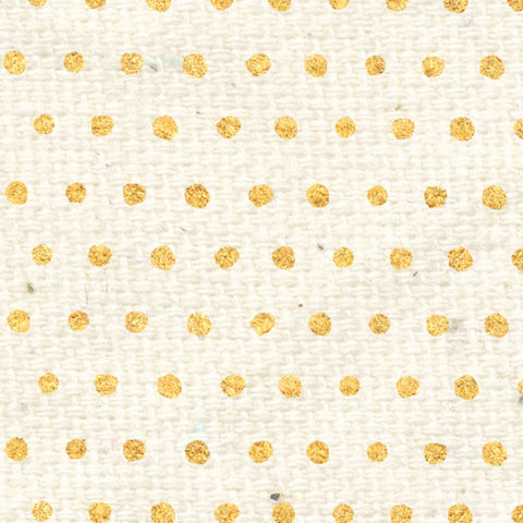 *********HDGBD - Holly Days Gold Baby Dots Cardstock