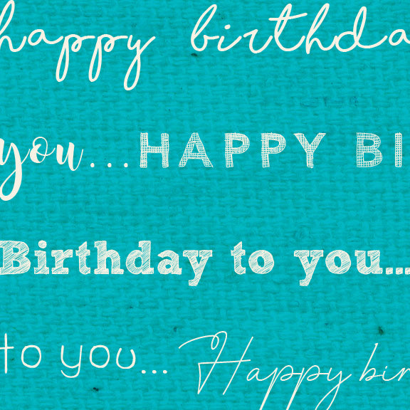 *******HBBLB - Happy Birthday Bluebird Paper  8 1/2 x 11