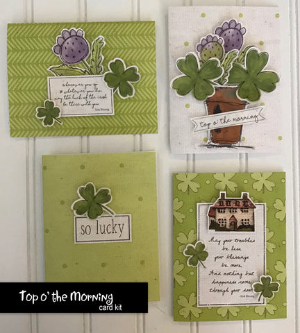 ********Top o' the Morning Card Kit
