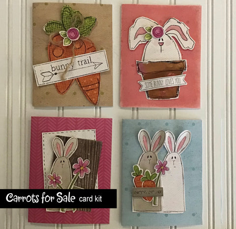 ********Carrots for Sale Card Kit