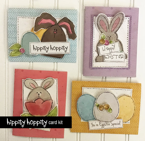 ********Hippity Hoppity Card Kit