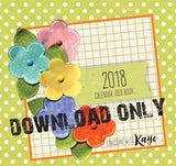 2018 Desktop Calendar Idea Book DOWNLOAD