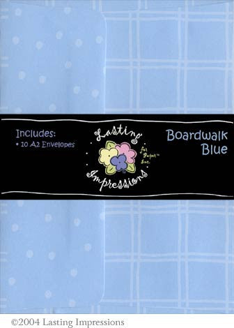A2 Envelope - Boardwalk Blue