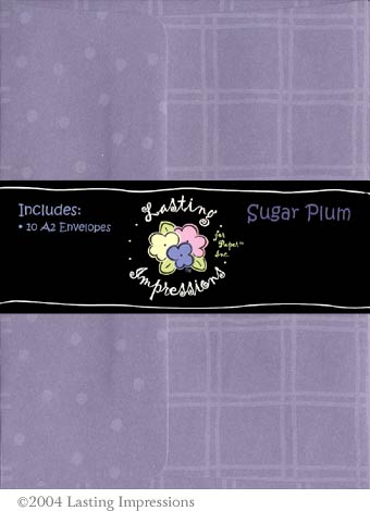 A2 Envelope - Sugar Plum
