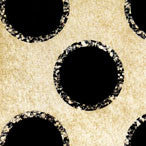 *Aged Black Dots with Sparkles