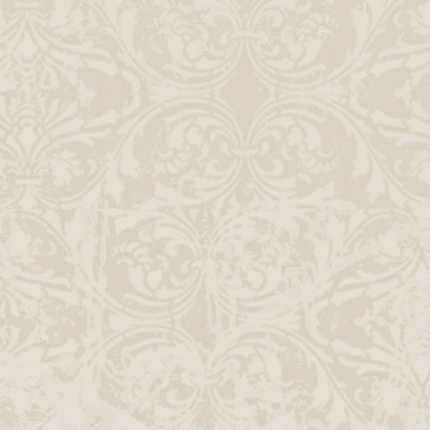 *ALBDM8 - Alabaster Damask 8 1/2 x 11 - One Sheet