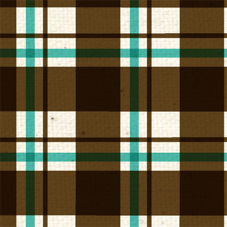 *AAH - All About Him Plaid 8 1/2 x 11 - One Sheet