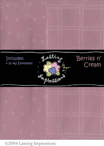 A2 Envelope - Berries n' Cream