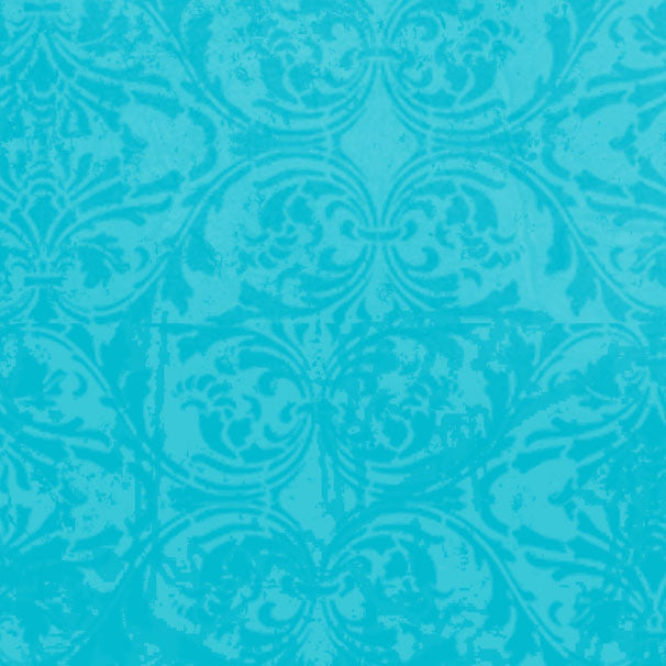 *BRDM8 - Blue Raspberry Damask 8 1/2 x 11 - One Sheet