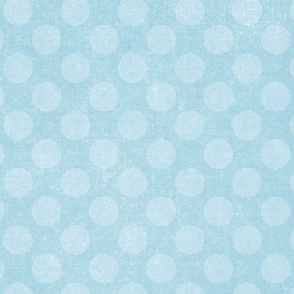 *BSCD8 - Blue Sky Chalky Dots 8 1/2 x 11 - One Sheet