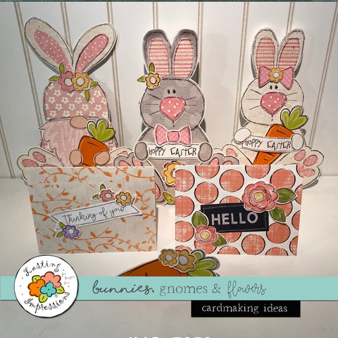 *******Bunnies, Gnomes and Flowers Cardmaking Idea Book