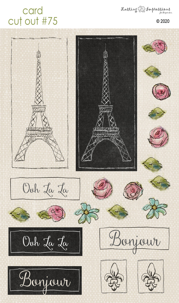 ********CCO75 - Card Cut Out #75 - Paris