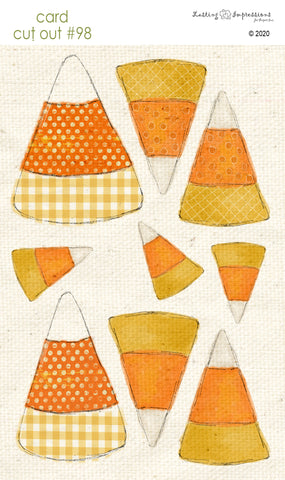 ********CCO98 - Card Cut Out #98 Candy Corn