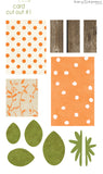 CCO01 - Card Cut Out #1 - Single Pumpkin