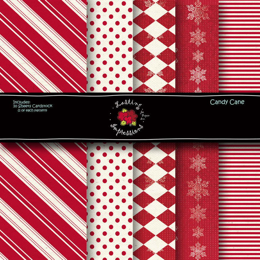 *COCAC8 - Candy Cane 8 1/2 x 11 Collection Pack