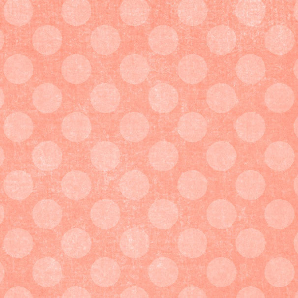 *CRBCD8 - Coral Bells Chalky Dots 8 1/2 x 11 - One Sheet