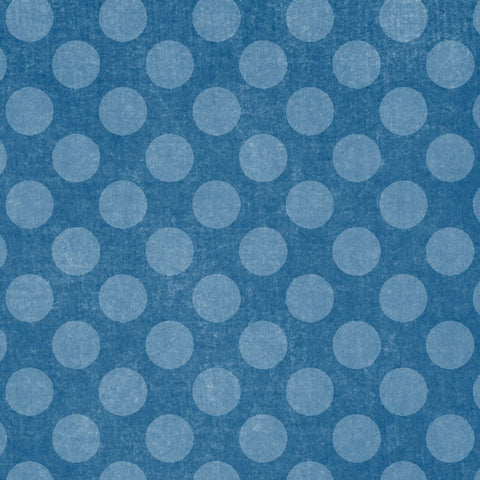 *DBCD8 - Dungaree Blue Chalky Dots 8 1/2 x 11 - One Sheet