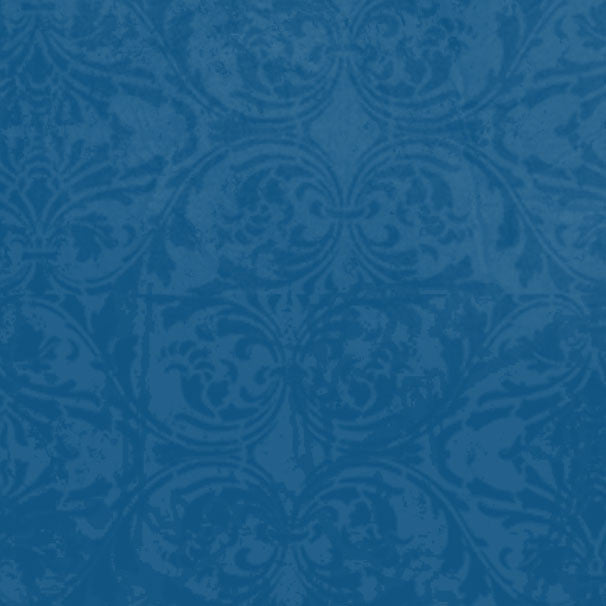 *DBDM8 - Dungaree Blue Damask 8 1/2 x 11 - One Sheet