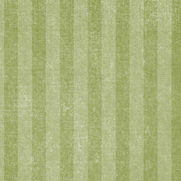 *GMGCS8 - Garden Moss Green Chalky Stripes 8 1/2 x 11 - One Sheet