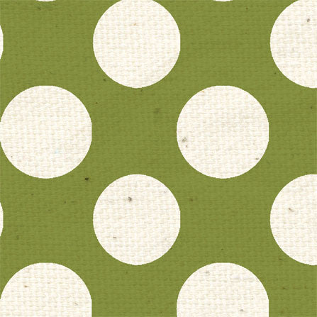*GMG - Garden Moss Large Polka Dots 8 1/2 x 11 - One Sheet