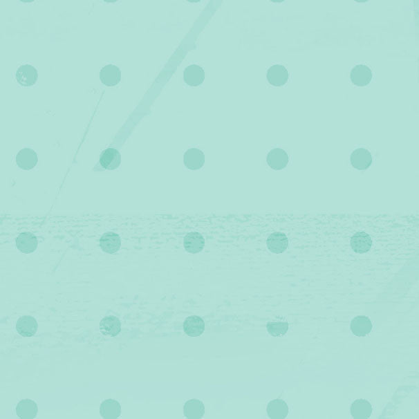 *GBAID8 - Gentle Breeze Aqua Inked Dots 8 1/2 x 11 - One Sheet