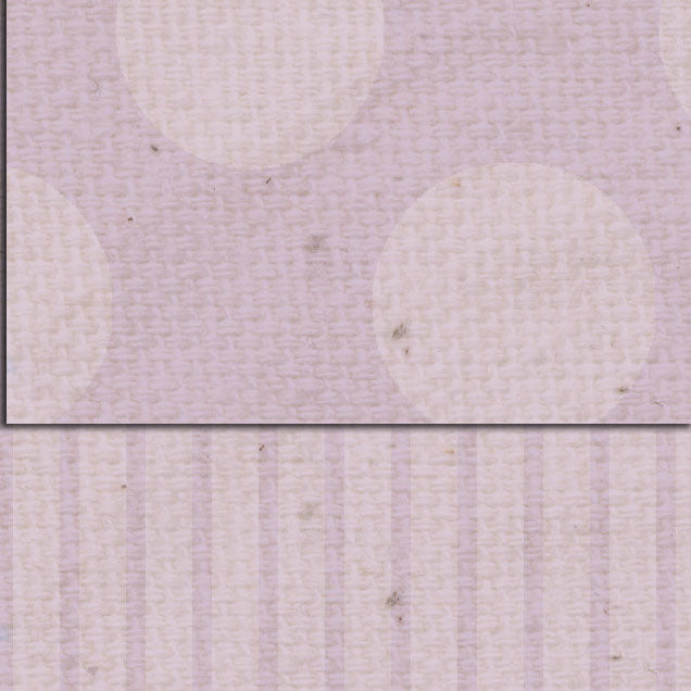 *DSVLDS Vintage Lilac Dots & Stripes Double Sided Cardstock