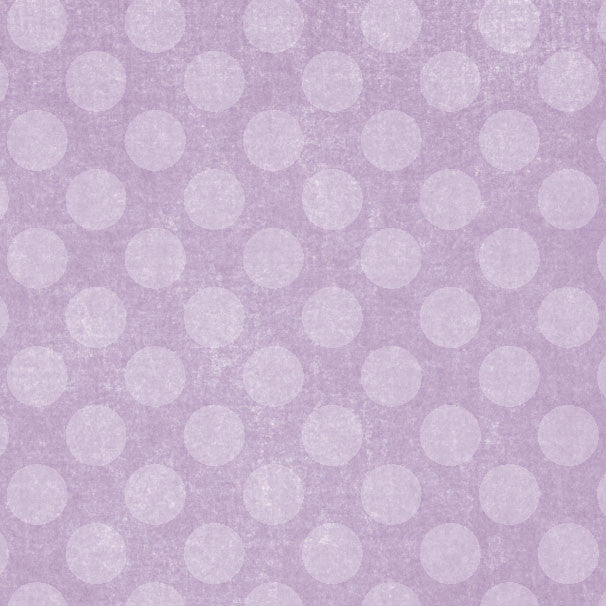 *GFCD8 - Grape Fizz Chalky Dots 8 1/2 x 11 - One Sheet