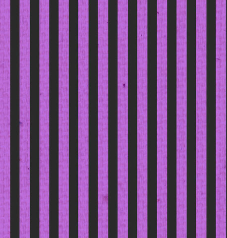 *SH - Purple & Black Mini Stripes 8 1/2 x 11