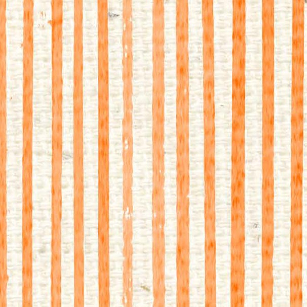 *HSOPAS - Orange Poppy Antique Stripes Paper  8 1/2 x 11