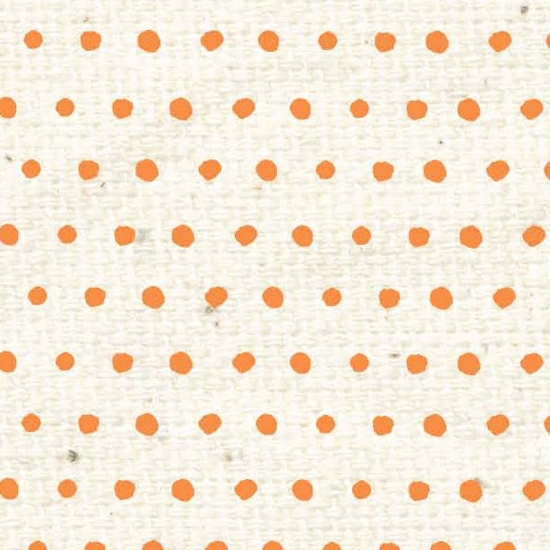 *HSOPBD - Orange Poppy Baby Dots Paper  8 1/2 x 11