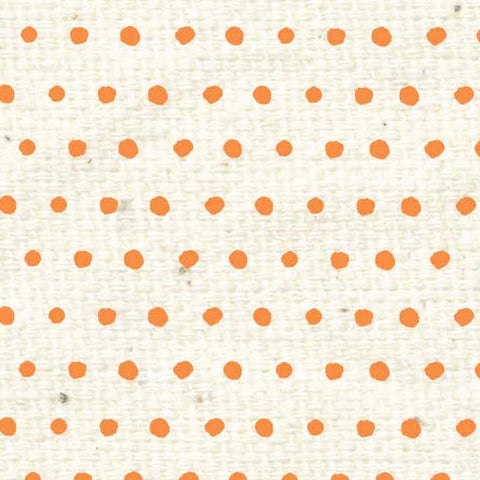 *****HSOPBD - Orange Poppy Baby Dots Paper  8 1/2 x 11