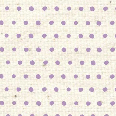 *****HSVLBD - Vintage Lilac Baby Dots Paper  8 1/2 x 11