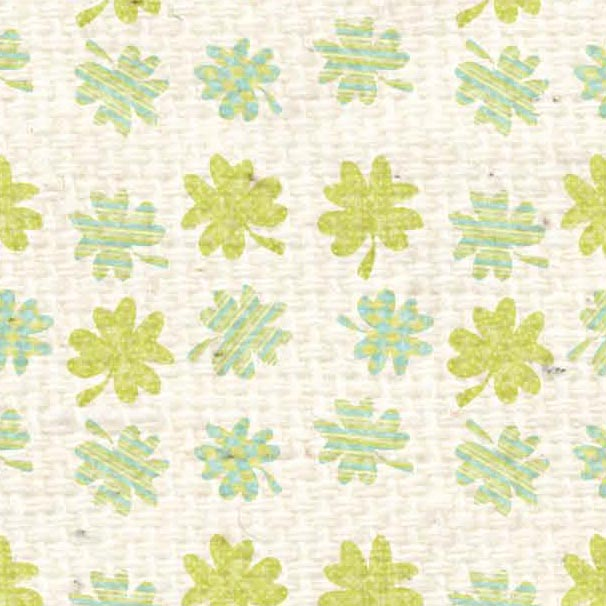 *HSSPBC - Sweet Pea Baby Clover Paper  8 1/2 x 11